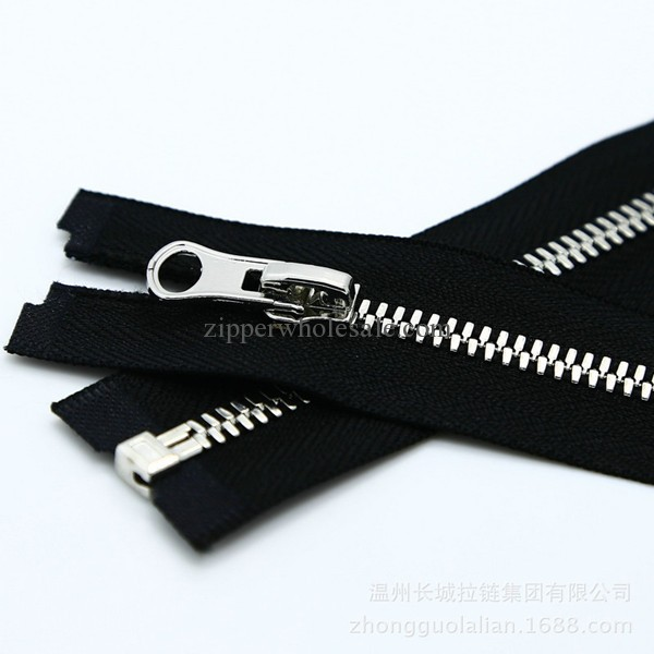metal separating zippers wholesale