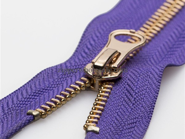 metal zippers for handbags wholesale