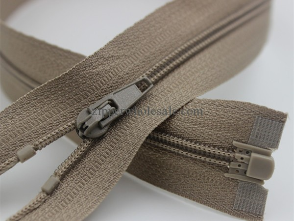 3# open end nylon zippers separating nylon zipper