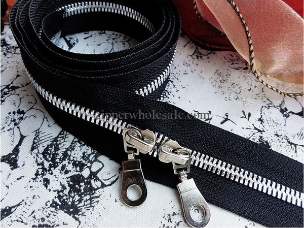 two way close end metal zippers wholesale