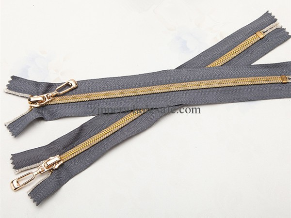 gold nylon zipper golden nylon zippers wholesale