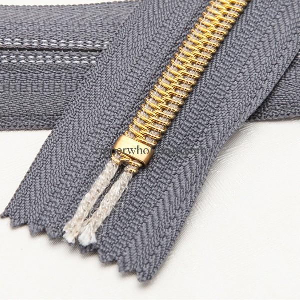 gold nylon zipper golden nylon zippers wholesale