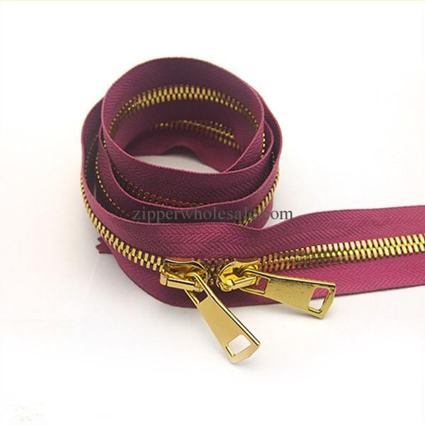 #15 Heavy Duty Metal Zippers wholesale