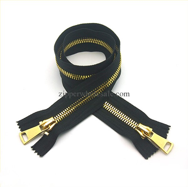 heavy duty large metal zippers wholesale