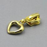 gold heart shape pulls wholesale