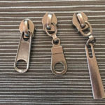 gunmetal sliders gun metal zipper pullers