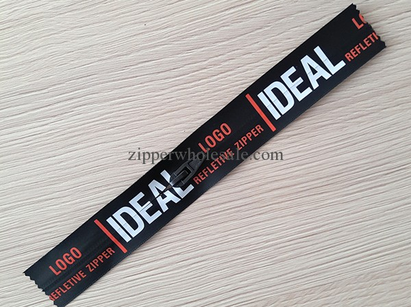 waterproof Printing Tape Zippers printed waterproof zippers