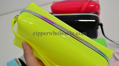 iridescent nylon zippers for bags