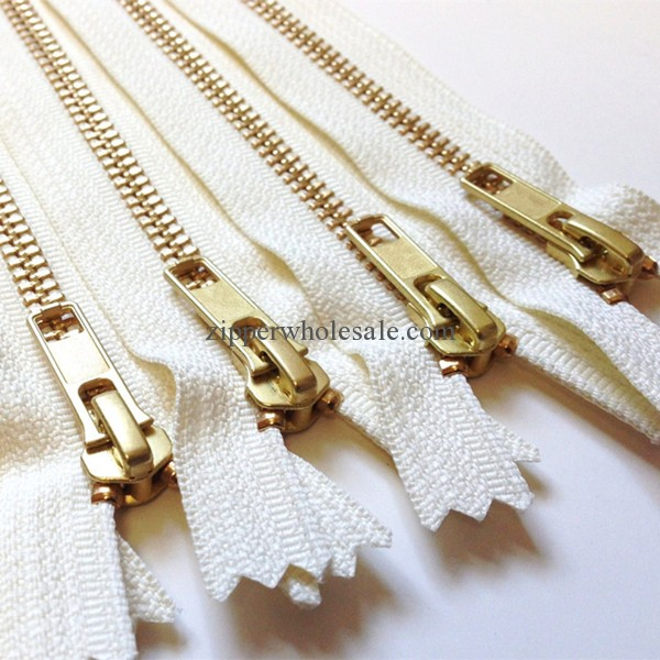 metal zippers for coveralls wholesale