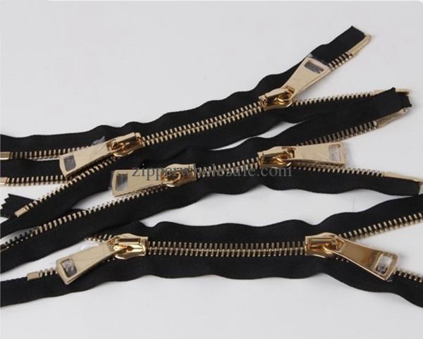 heavy duty metal zippers for coats