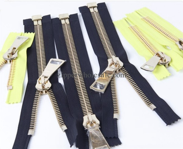 heavy duty metal zippers for coats