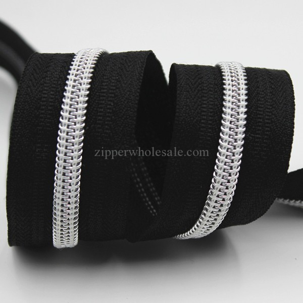 Metallic Gold Coil Zippers Wholesale