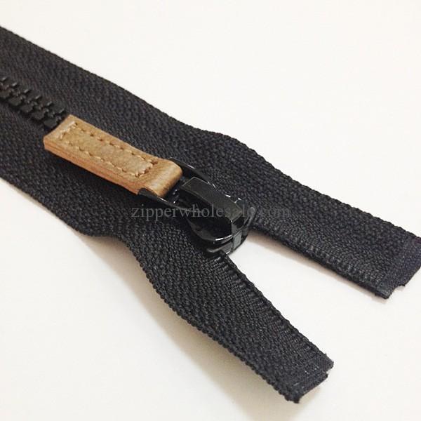 plastic separating zippers wholesale