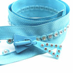 rhinestone zippers for sale