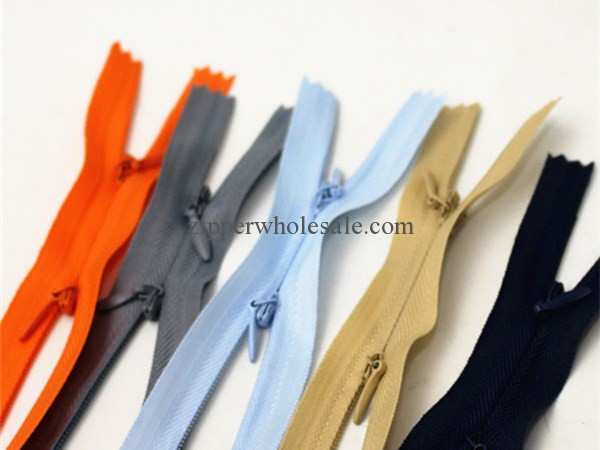 two way close end invisible zippers wholesale