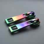 colored rainbow zipper pulls wholesale
