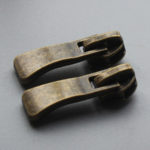antique brass zipper pulls wholesale