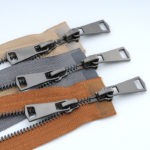 black plated teeth metal zippers wholesale