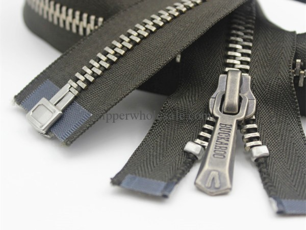 ykk metal separating zippers