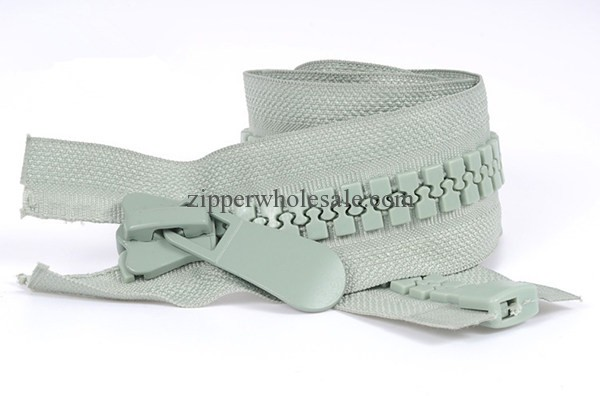 large tooth plastic zippers wholesale
