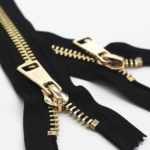 metal zippers 7 inches 8 inches 9 inches